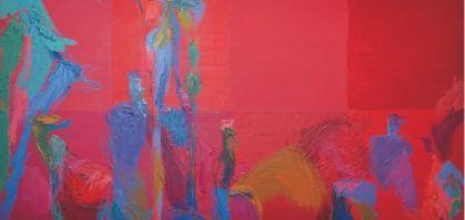 Bodegón rojo. Cristina Prieto Crespi.
