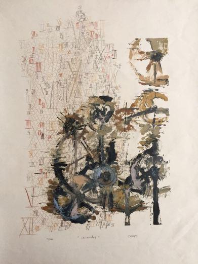 Fugacidad II - Grafito y Monotipo