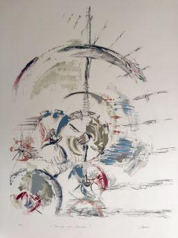 Fugacidad IX - Grafito y Monotipo