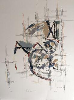 Fugacidad VII - Grafito y Monotipo