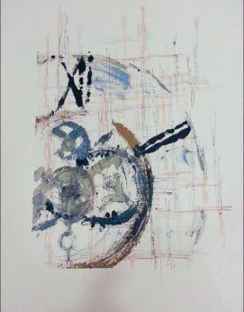 Fugacidad XII - Grafito y Monotipo