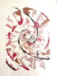Recorrido I-Grafito y Monotipo. ( 50 x 70 cm)