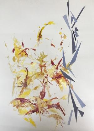 Natura XXXII. Monotipo. 69 x 47 cm.