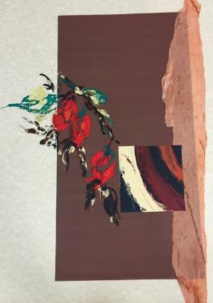 Natura XXIV. Monotipo. 63 x 45 cm