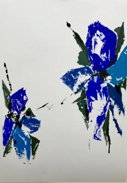 Natura XXXVIII. Monotipo. 68 x 48 cm