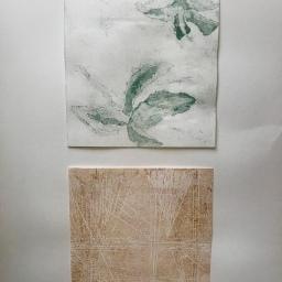 Natura XXXII. Monotipo. 68 x 49 cm