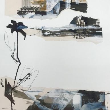 Analogía XXII. 2019. Acuarela y tinta china. 50x70cm.
