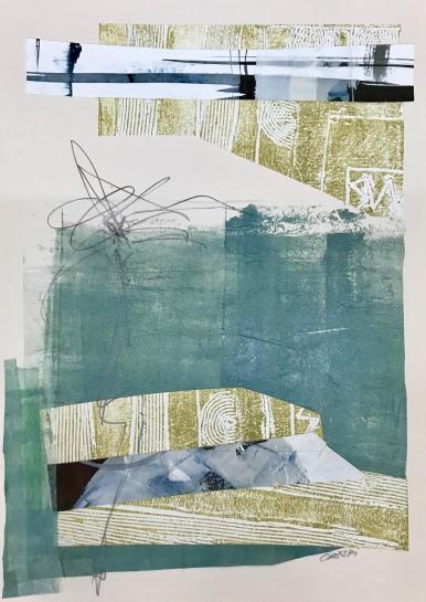 Analogía XXXIII, Acuarela y tinta china. 25 x 35cm.