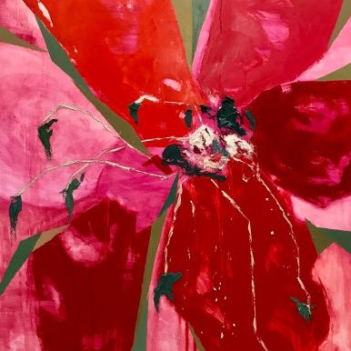 Natura XI. 2017. Óleo sobre lienzo, 130 x 89 cm