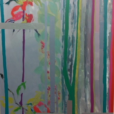 Natura III. 2017. Óleo sobre lienzo, 130 x 89 cm