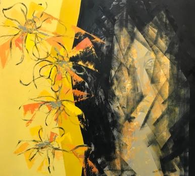 Natura IX. 2017. Óleo sobre lienzo, 116 x 130 cm